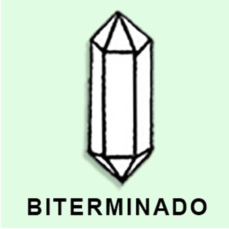 Cuarzo Maestro Biterminado