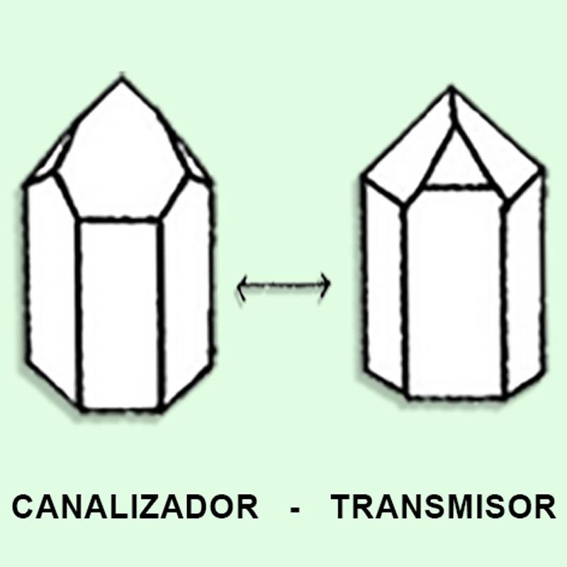 Cuarzo Maestro Canalizador - transmisor