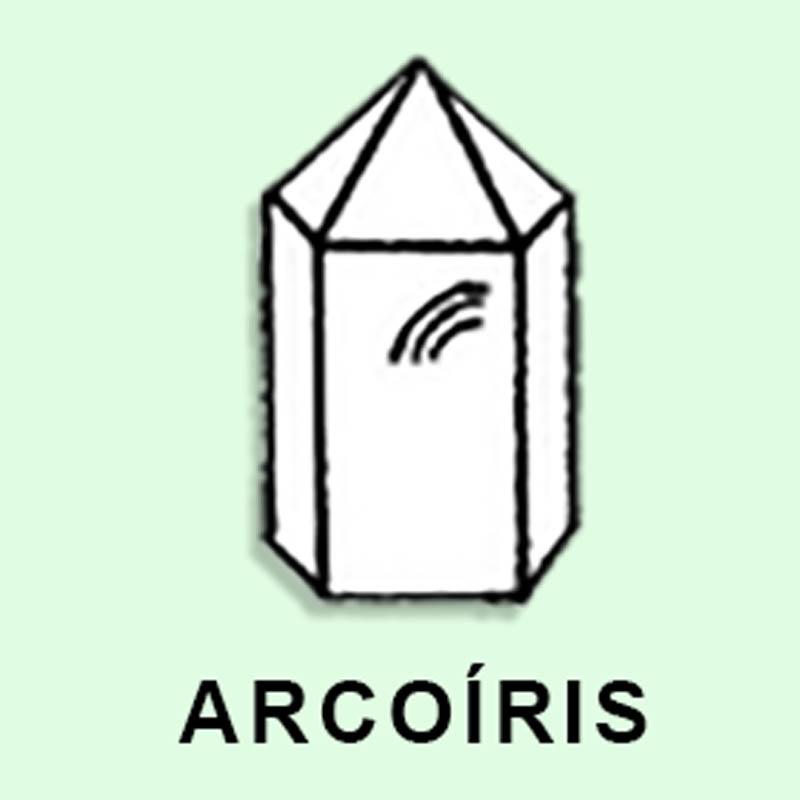 Cuarzo Maestro Arcoiris