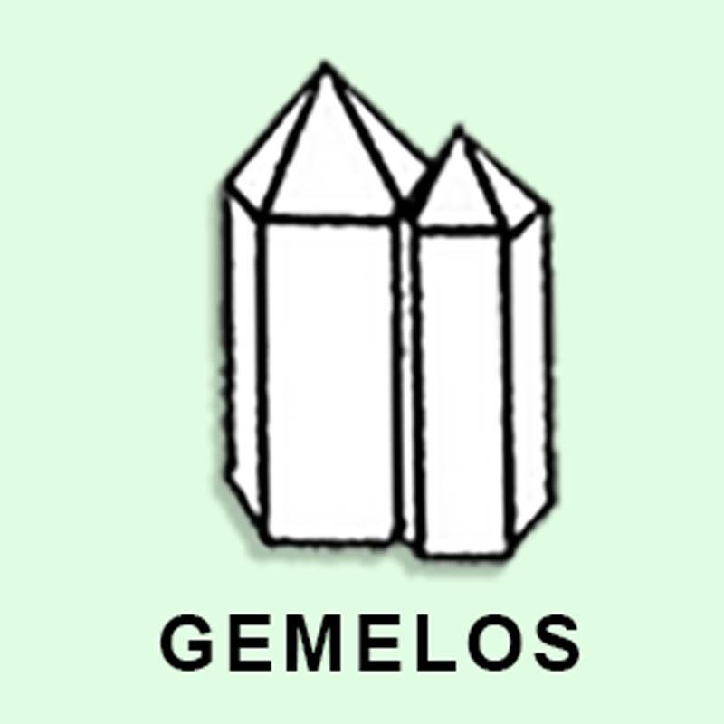 Cuarzo Maestro Gemelos