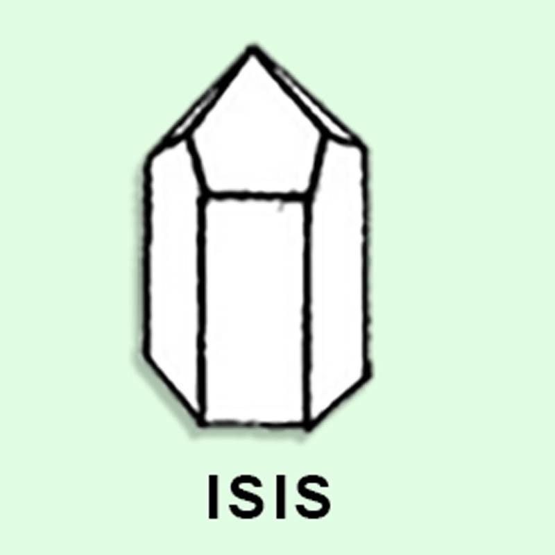Cuarzo Maestro Isis