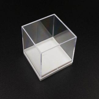 Expositor Caja Acrílico 50x50x55mm