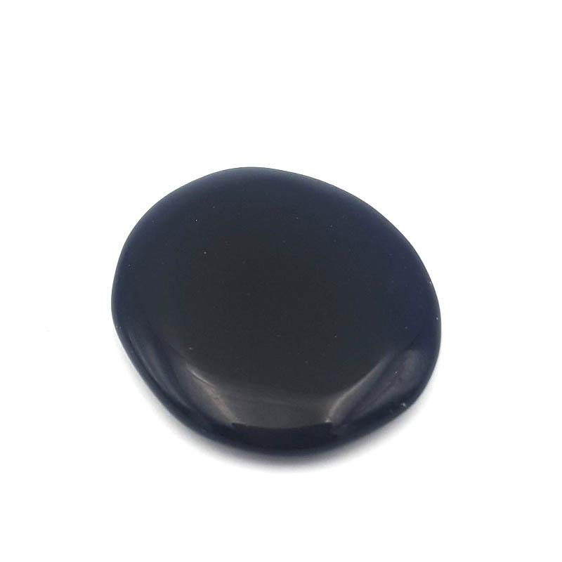 Rodado Plano de Obsidiana Negra