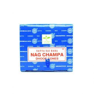Incienso de Cono Nag Champa SATYA