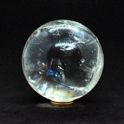 Esfera de cuarzo blanco