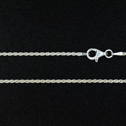 Cadena de Plata Salomonica 50cm
