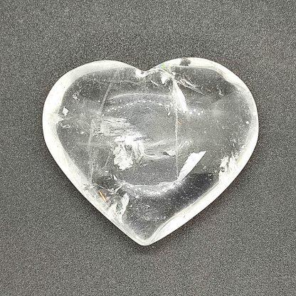 Corazón de Cuarzo Blanco
