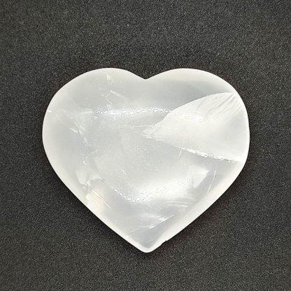 Corazón de Cuarzo Lechoso