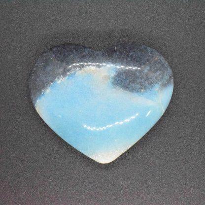 Corazón de Cuarzo Azul Paraiba