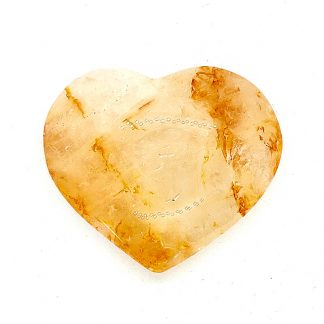 Corazón de Cuarzo Ferruginoso