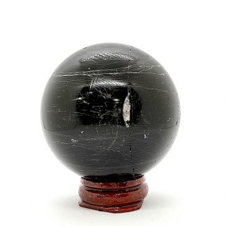 Esfera de Turmalina Negra