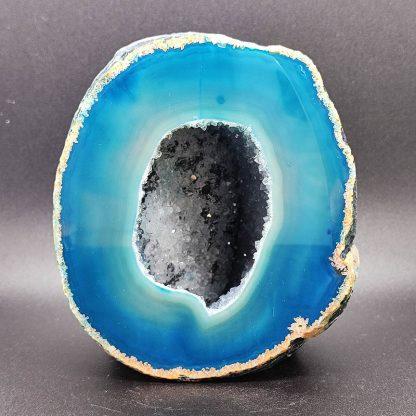 Geodino de Ágata Azul