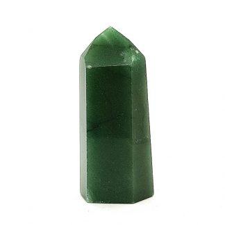 Punta de cuarzo verde