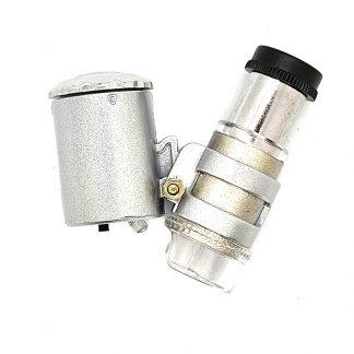 Mini Microscopio con Luz Blanca / UV
