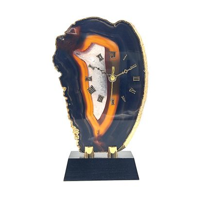 Reloj de Chapa de Agata Natural