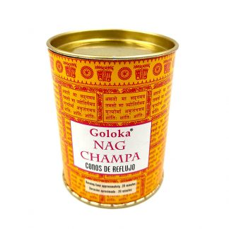Incienso Cono de Reflujo Nag Champa GOLOKA