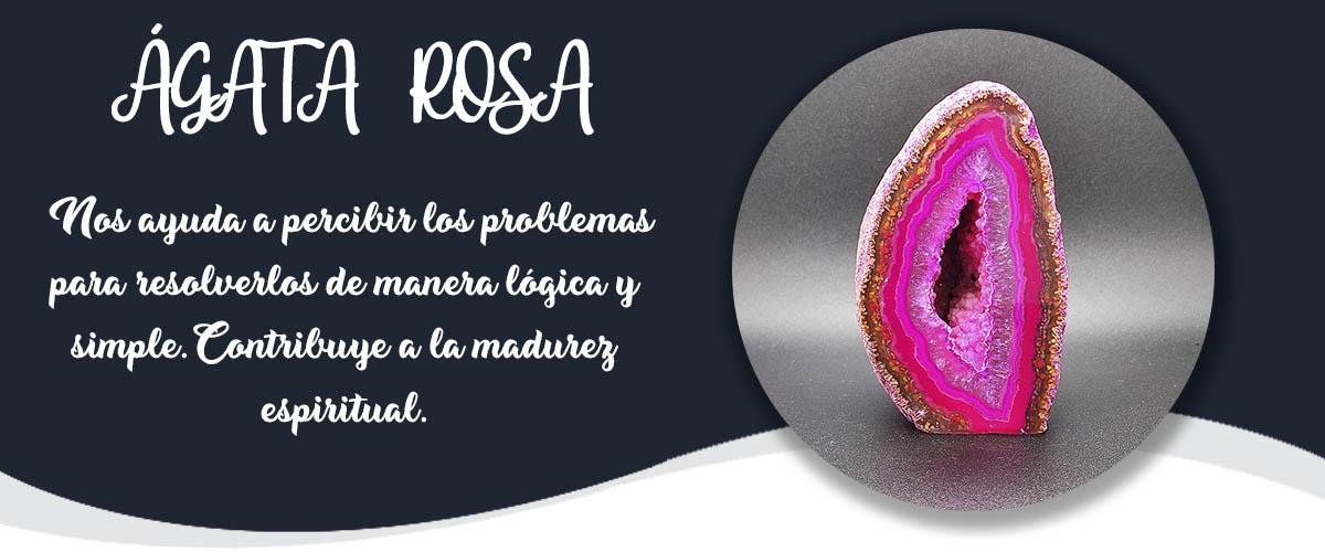 AGATA ROSA - Banner Minerales Diccionario