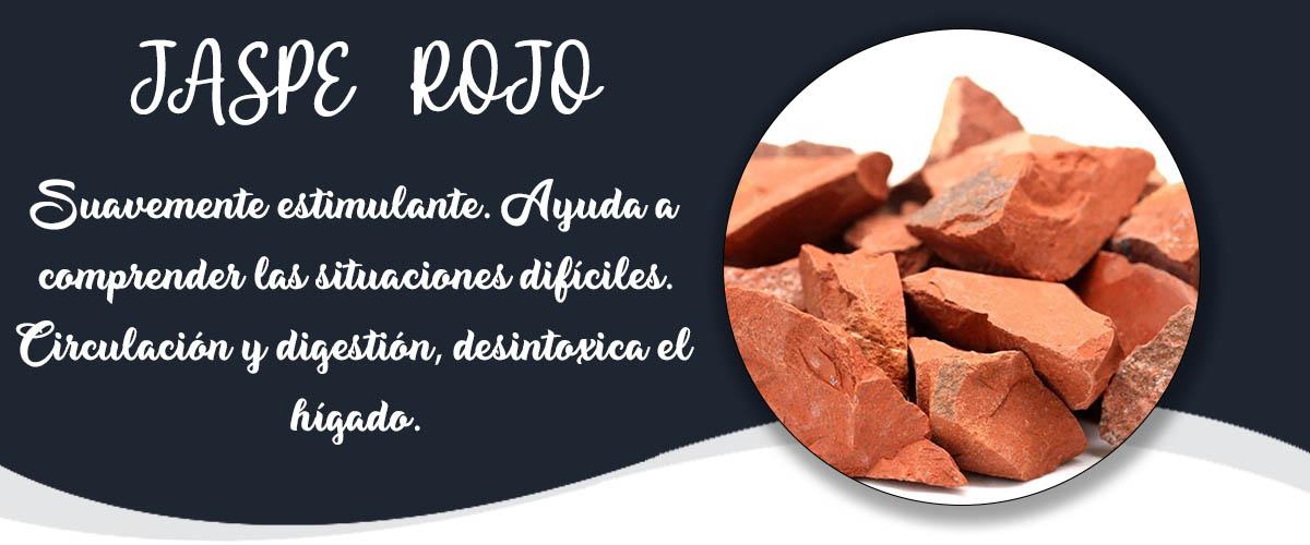 JASPE ROJO - Banner Minerales Diccionario