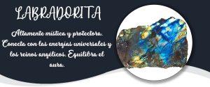 LABRADORITA - Banner Minerales Diccionario