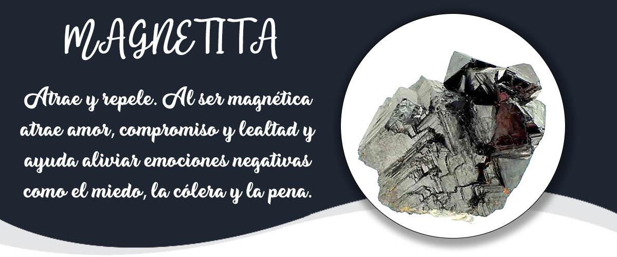 MAGNETITA - Banner Minerales Diccionario