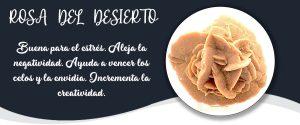 ROSA DEL DESIERTO - Banner Minerales Diccionario